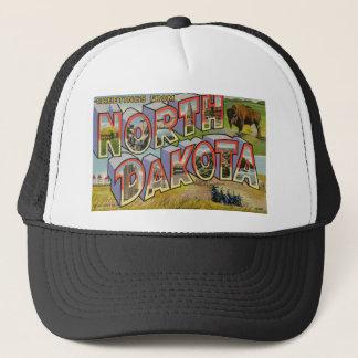 Greetings From North Dakota Trucker Hat
