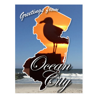 Greetings from Ocean City, NJ Postcard