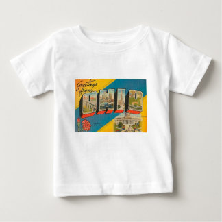 Greetings From Ohio Baby T-Shirt