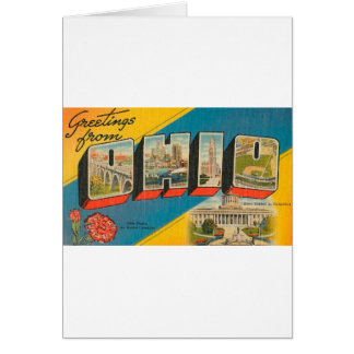 Greetings From Ohio Card