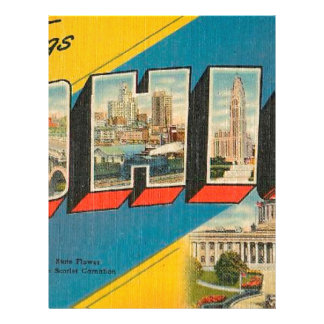 Greetings From Ohio Letterhead