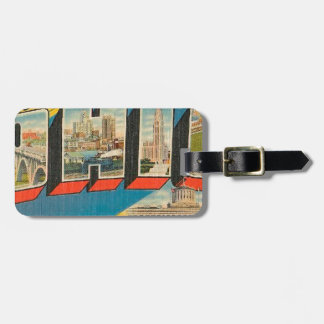 Greetings From Ohio Luggage Tag