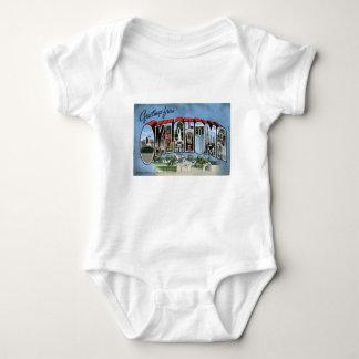Greetings From Oklahoma Baby Bodysuit