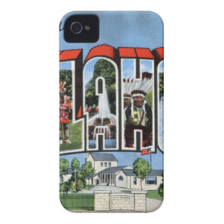 Greetings From Oklahoma iPhone 4 Case