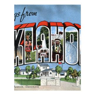 Greetings From Oklahoma Letterhead