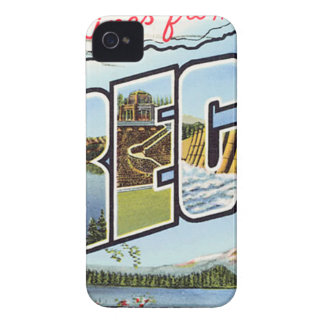 Greetings From Oregon iPhone 4 Cases