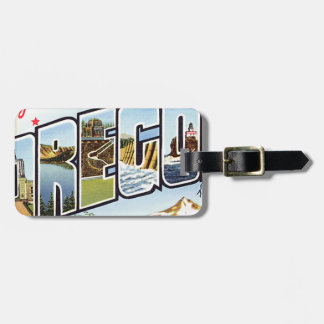 Greetings From Oregon Luggage Tag