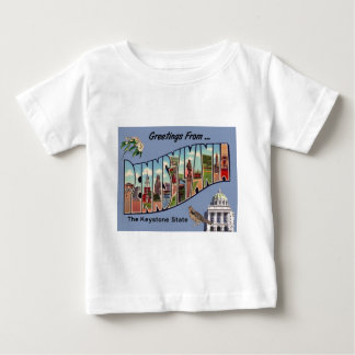 Greetings From Pennsylvania Baby T-Shirt