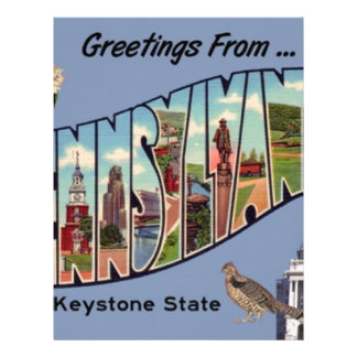 Greetings From Pennsylvania Letterhead