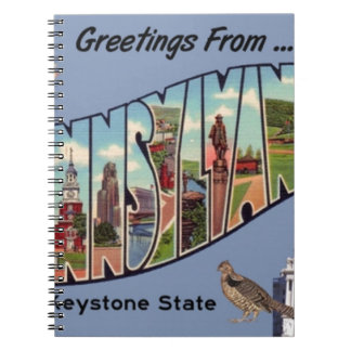 Greetings From Pennsylvania Notebook