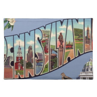 Greetings From Pennsylvania Placemat