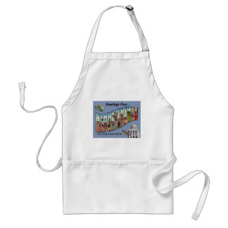 Greetings From Pennsylvania Standard Apron
