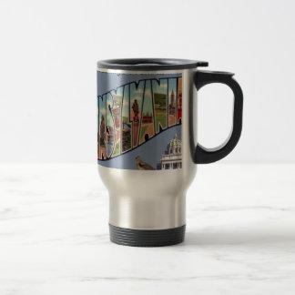 Greetings From Pennsylvania Travel Mug
