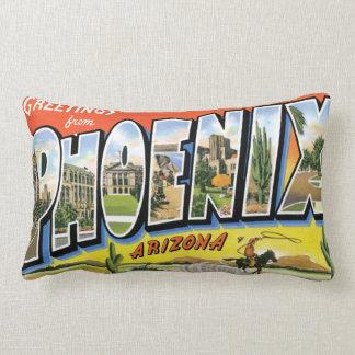 Greetings From Phoenix Arizon Lumbar Pillow
