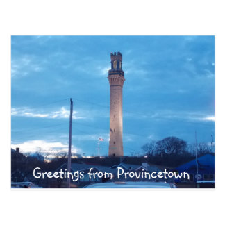 Greetings from Provincetown 2 Postcard
