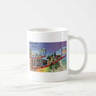 Greetings From Rhode Island Coffee Mug