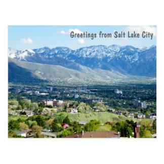 Greetings from Salt Lake City Postcard