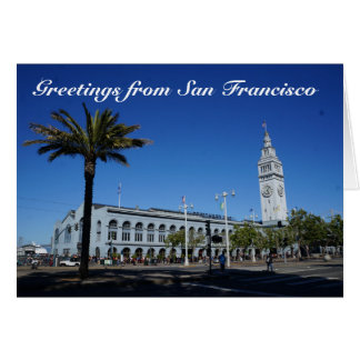 Greetings from San Francisco Ferry Building#2 Card
