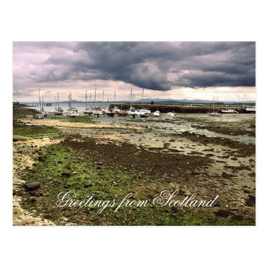 Greetings from Scotland, Aberdour Postcard
