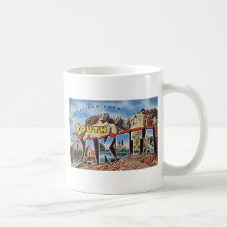 Greetings From South Dakota Coffee Mug