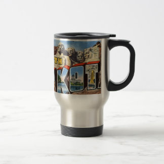Greetings From South Dakota Travel Mug