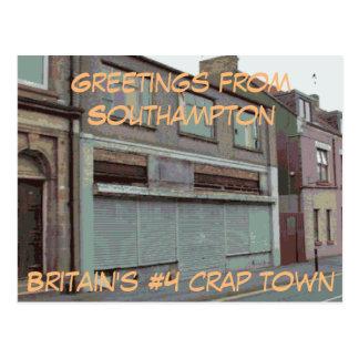 Greetings from Southampton postcard