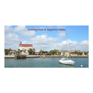 Greetings from St. Augustine, Florida Photo Greeting Card