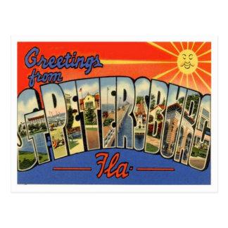 Greetings From St. Petersburg Florida Postcard