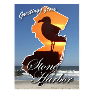 Greetings from Stone Harbor Postcard