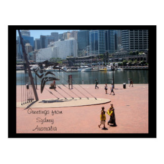 Greetings from Sydney Australia Postcard