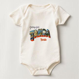 Greetings from Tampa, Florida Baby Bodysuit