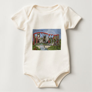 Greetings From Tennessee Baby Bodysuit