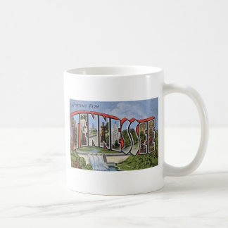 Greetings From Tennessee Coffee Mug