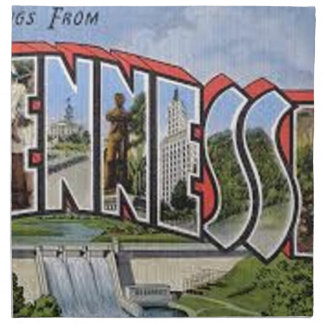 Greetings From Tennessee Napkin