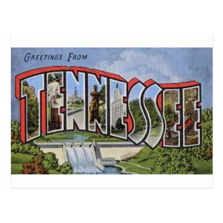 Greetings From Tennessee Postcard