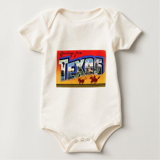 Greetings From Texas Baby Bodysuit