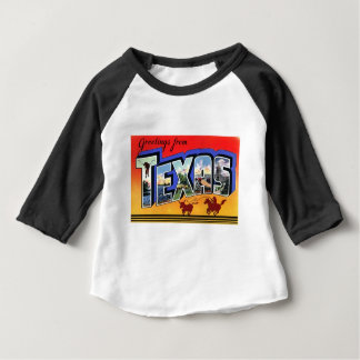 Greetings From Texas Baby T-Shirt