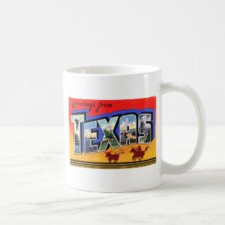 Greetings From Texas Coffee Mug
