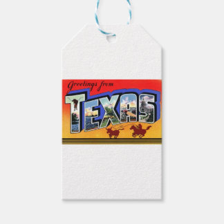Greetings From Texas Gift Tags