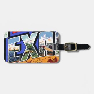 Greetings From Texas Luggage Tag