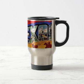 Greetings From Texas Travel Mug