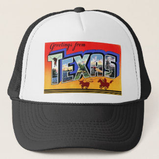 Greetings From Texas Trucker Hat