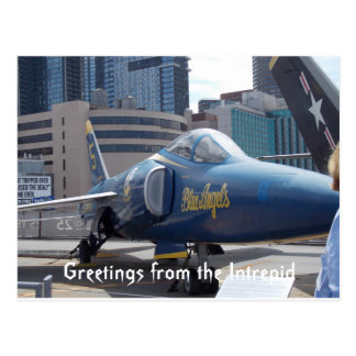 Greetings from the Intrepid postcard 1