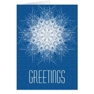 Greetings from the universe card