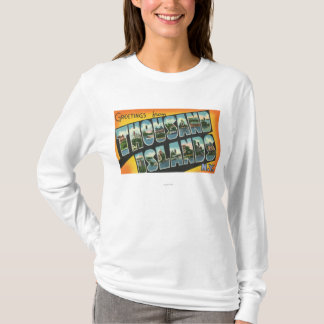 Greetings from Thousand Islands, New York T-Shirt