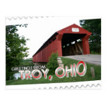Greetings from Troy, Ohio Postcard