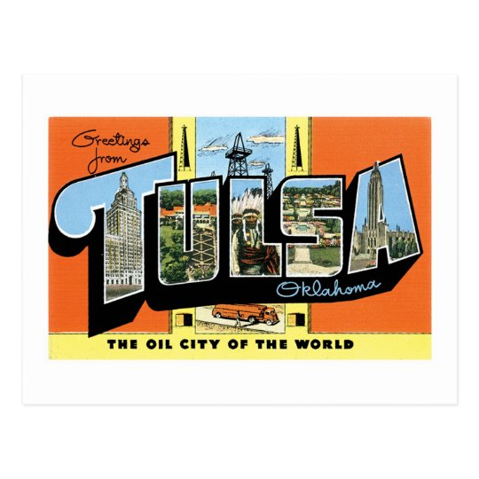Greetings from Tulsa, Oklahoma Postcard