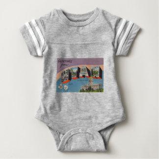 Greetings From Utah Baby Bodysuit