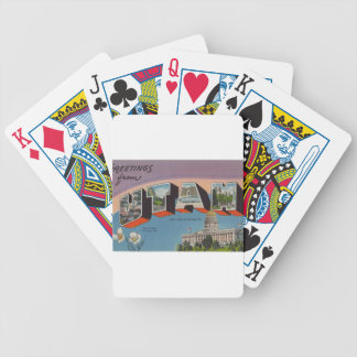 Greetings From Utah Bicycle Playing Cards