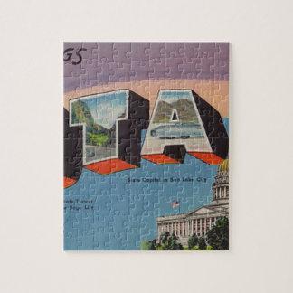 Greetings From Utah Jigsaw Puzzle